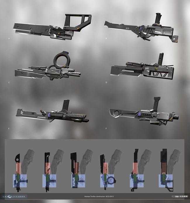 """redsteam-ios-project-sobaku-chiuchiu-weapon-generator Conheça """"Conquistador"""", jogo cancelado da Gameloft que lembra """"Dead Space"""""""