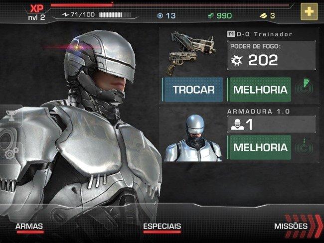 robocop-jogo-android-1 RoboCop: jogo do novo filme é lançado para Android e iOS