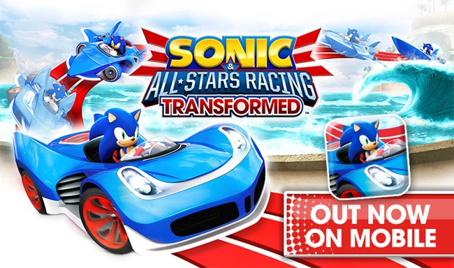 sonic-sega-all-star-racing-transformed Sonic & All-Stars Racing Transformed chega para Android e iOS