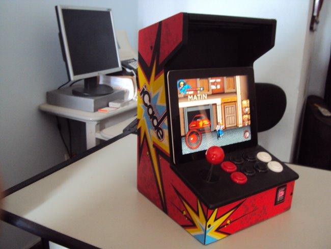 Análise-iCade-iPad-12 Análise do controle iCade ION - Transformando o iPad num arcade