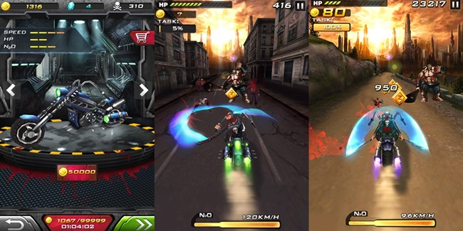 Death-moto-2-android-1 Jogos para Android Grátis - Death Moto 2