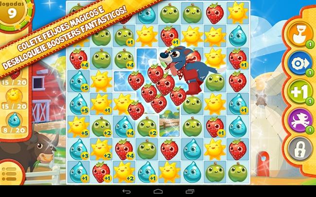 Farm-Heroes-Saga-Android-1 Jogos Grátis para Android e iOS - Farm Heroes Saga