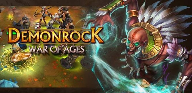 demonrock-war-of-ages Jogo dos mesmos criadores de RavenSwords chega para Android e iOS na semana que vem