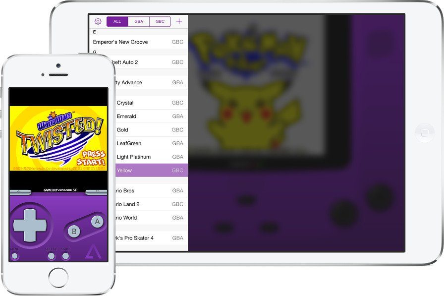 gba4ios2_devices Baixe o emulador do Gameboy Advance para iPhone e iPad (Sem Jailbreak)