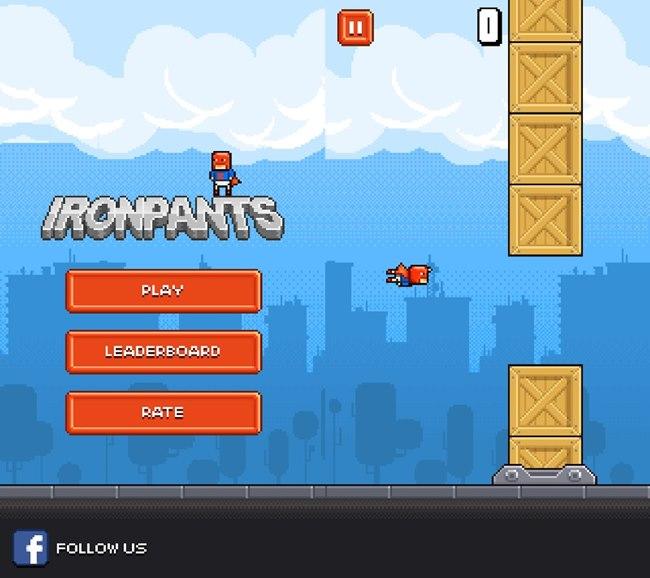ironpants-android-2 Ironpants é o pior e mais difícil jogo para Android