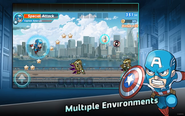 marvel-smash-run-android Marvel Run Jump Smash leva os Vingadores para uma voltinha no estilo Jetpack Joyride