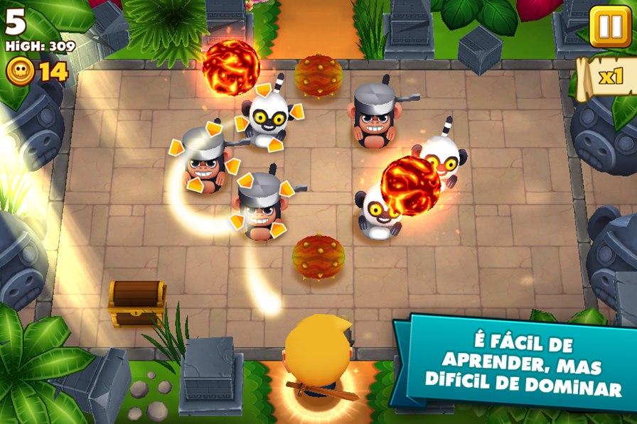 tiki-monkeys-android-1 Melhores jogos para iPhone e iPad da Semana #5/2014