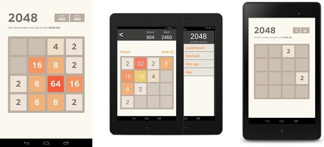 2048-android 25 Melhores Jogos para Android Grátis - 1° Semestre de 2014