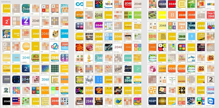 2048-no-Google-Play O maior desafio de 2048 é tentar encontrar o jogo oficial