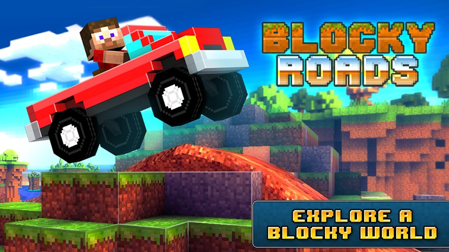 Blocky-Roads-Android-1 Jogos para Android Grátis - Blocky Roads