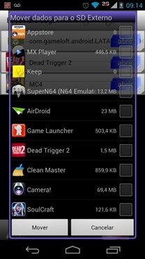"""GLtoSD-2 GL to SD: Aplicativo para Android move facilmente o """"DATA"""" dos jogos para o cartão MicroSD"""