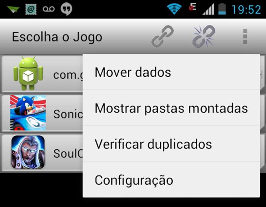 """GLtoSD-Android GL to SD: Aplicativo para Android move facilmente o """"DATA"""" dos jogos para o cartão MicroSD"""