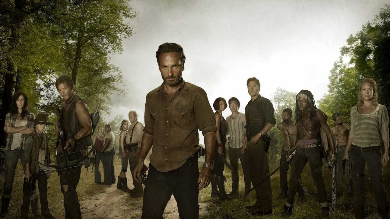 The_Walking_Dead_group_720p Anunciado novo jogo baseado na série de TV 'The Walking Dead' para Android e iOS