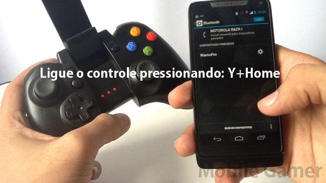Tutorial-Controle-Wamo-Pro-2-4 Tutorial: Como configurar o Wamo Pro para ser reconhecido como um controle MOGA PRO