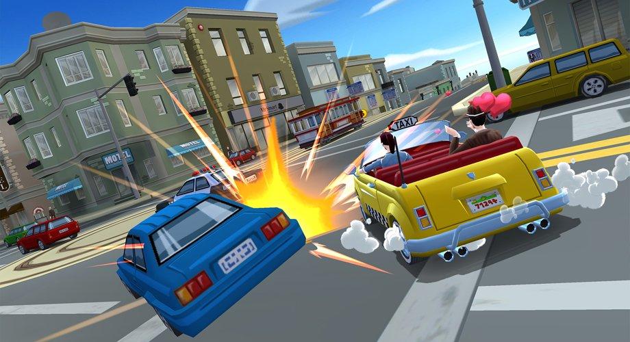 crazy-taxi-city-rush Novo Crazy Taxi para iOS e Android não parece uma sequência do original