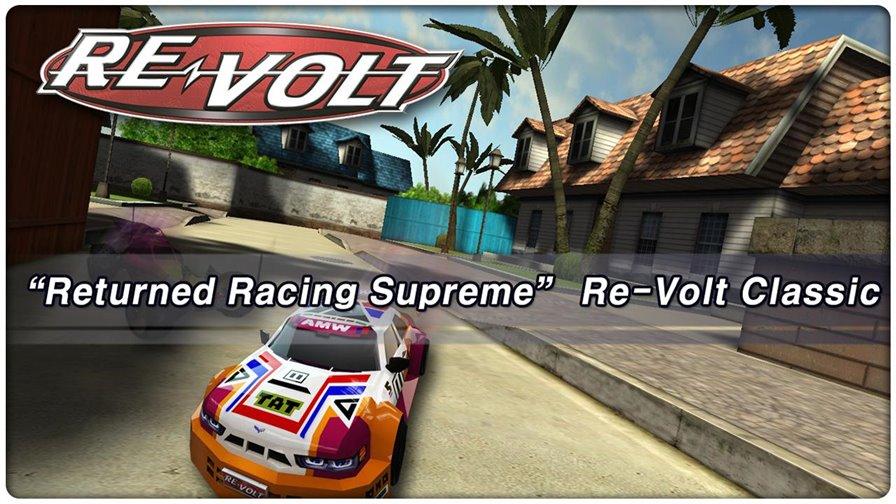 revolt-classic Jogos para Android Grátis - RE-VOLT Classic-3D Racing