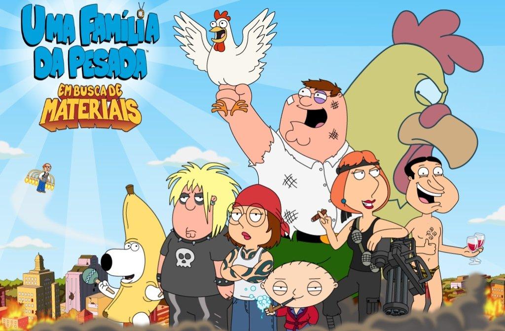 """Family-Guy-Android-iOS Veja como será o jogo de """"Uma Família da Pesada"""" para Android e iOS"""