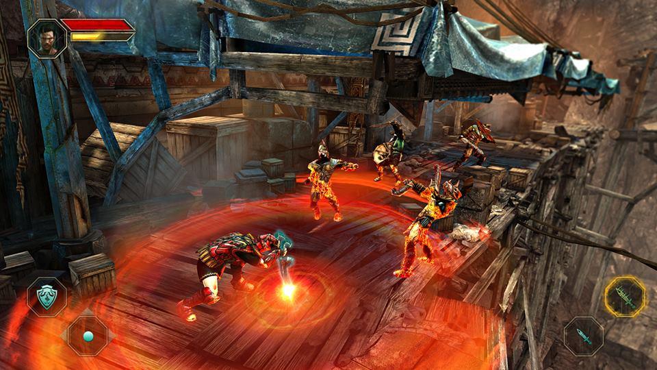 Godfire2 Godfire: Rise of Prometheus: Novas imagens do aguardado jogo para Android e iOS