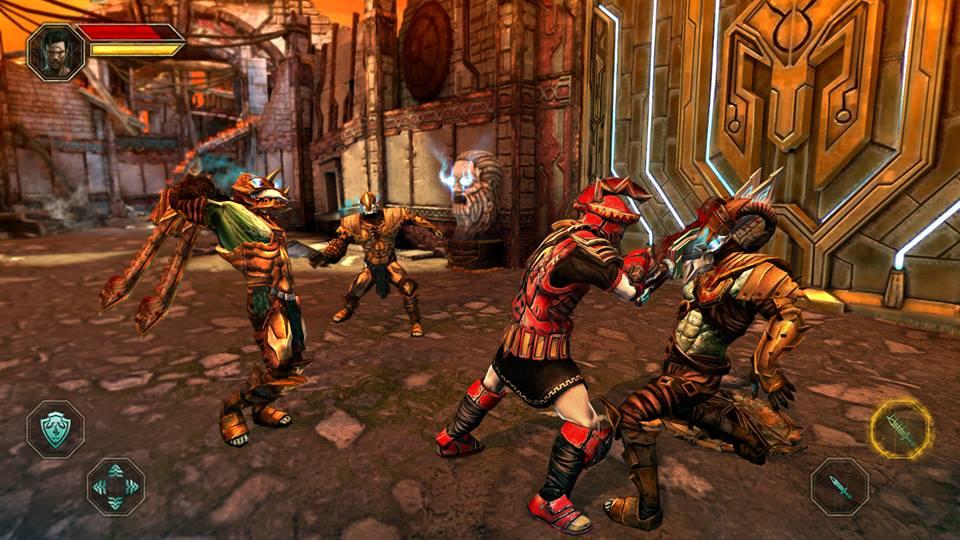 Godfire4 Godfire: Rise of Prometheus: Novas imagens do aguardado jogo para Android e iOS