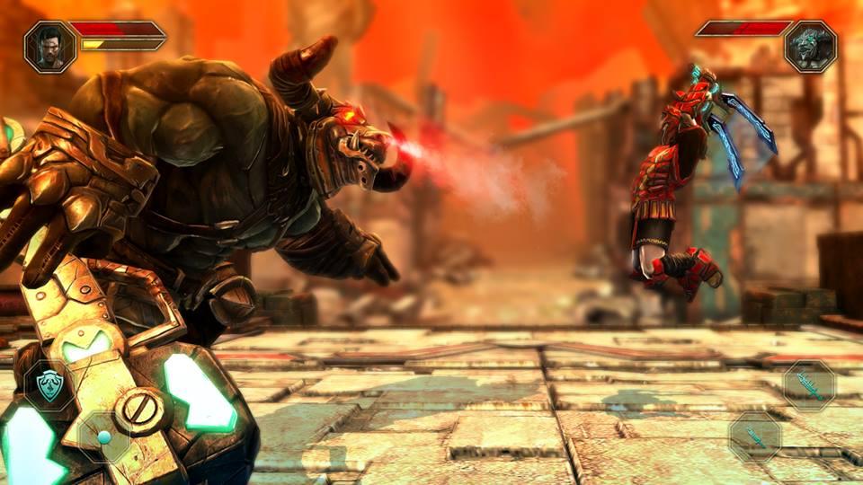 Godfire5 Godfire: Rise of Prometheus: Novas imagens do aguardado jogo para Android e iOS