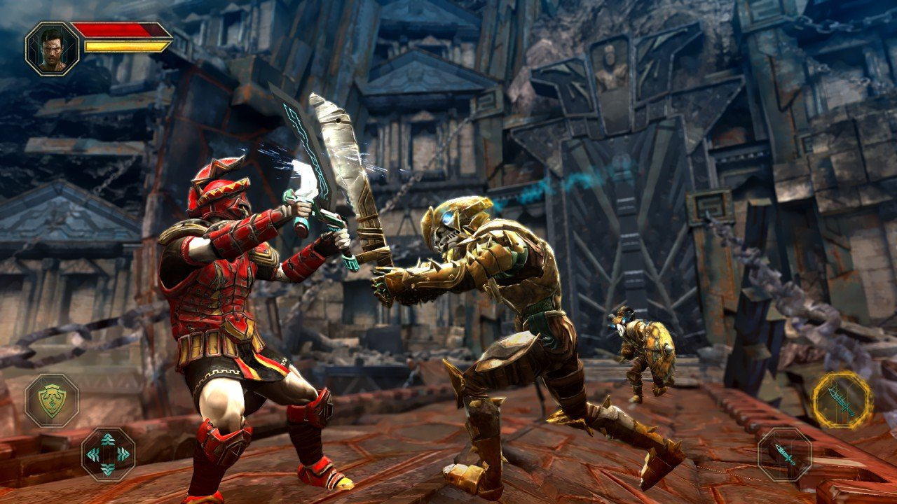 Godfire6 5 Jogos para Android parecidos com God of War