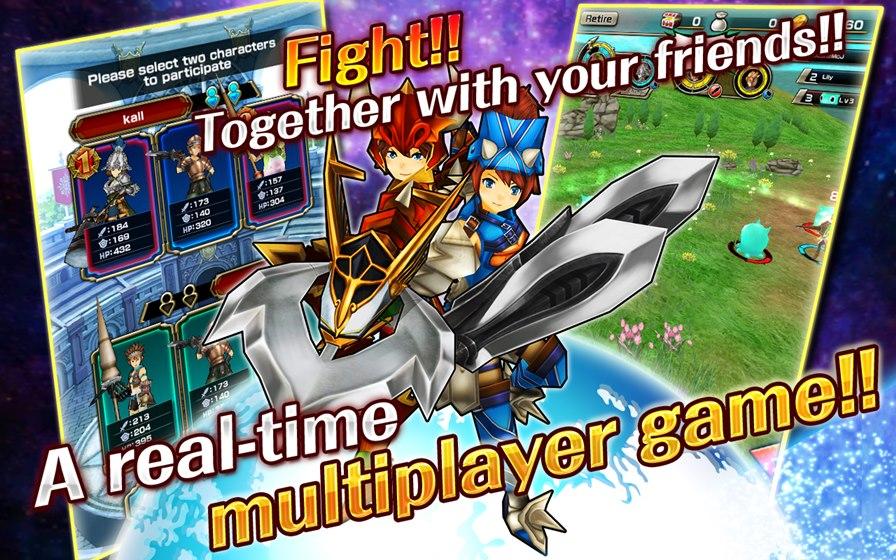 Slingshot-Braves-Android-iOS Slingshot Braves é um jogo de RPG com jogabilidade diferente