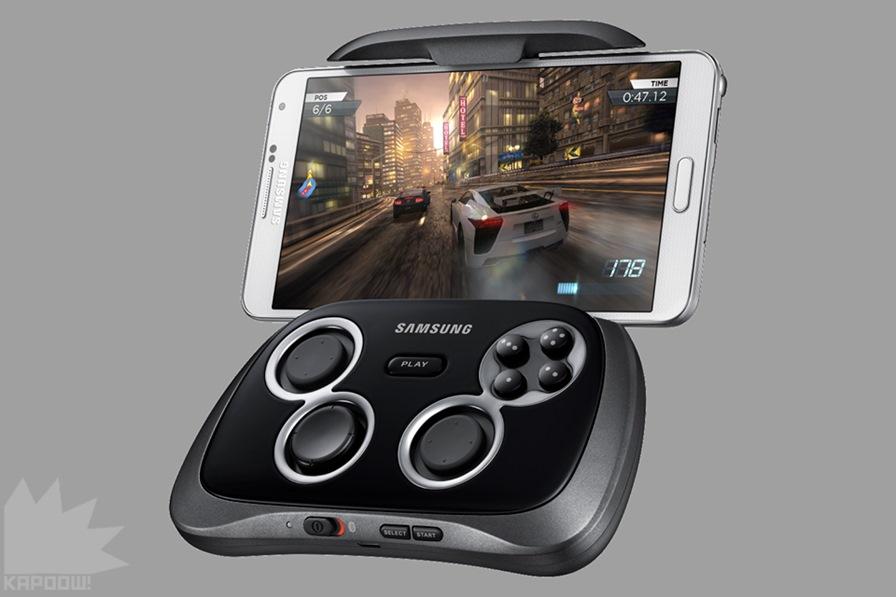 """controle-bluetooth-samsung-gamepad Samsung Game Pad chega ao Brasil por """"apenas"""" R$ 449"""