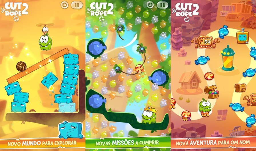cut-the-rope-2-Android Jogos para Android Grátis - Cut the Rope 2