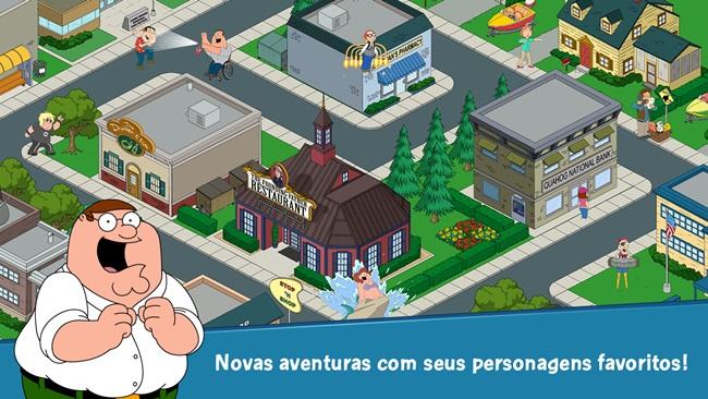 family-guy-android Melhores Jogos para Android Grátis - Abril de 2014