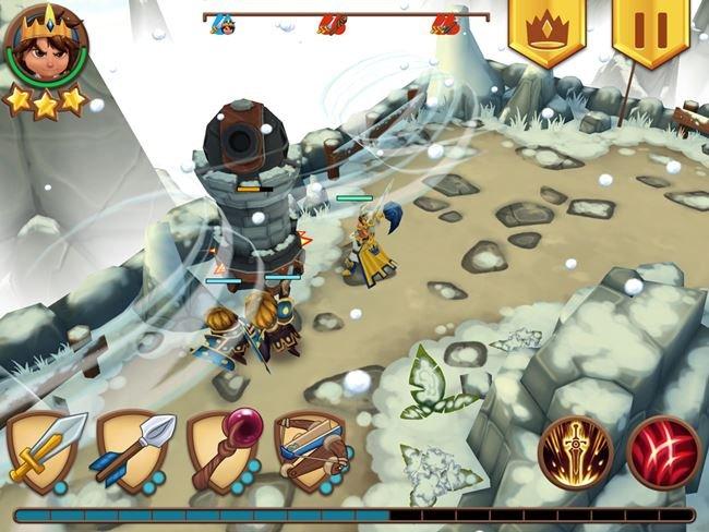 royal-revolt 100 Melhores Jogos Offline Grátis para Android