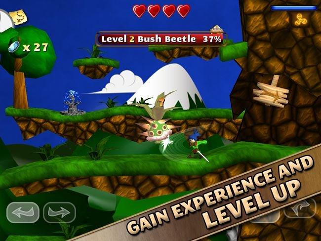 swordigo-android 25 Melhores Jogos para Android Grátis - 1° Semestre de 2014