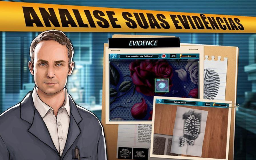 """Csi-hidden-crimes-2 CSI """"sem Grissom"""" chega ao Android e iOS"""