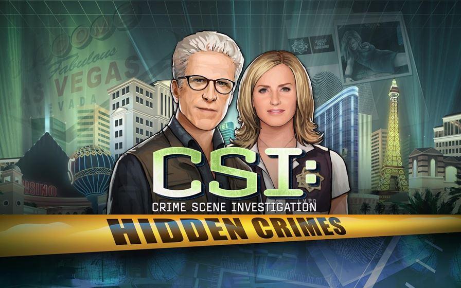 """Csi-hidden-crimes CSI """"sem Grissom"""" chega ao Android e iOS"""