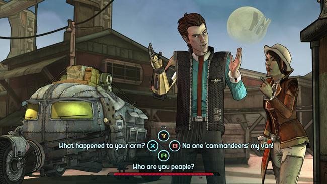 boderlands-android-1 Telltale libera imagens do seu jogo sobre Borderlands