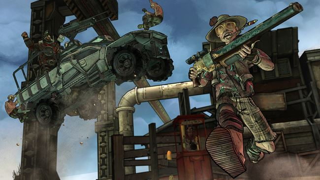 boderlands-android-2 Telltale libera imagens do seu jogo sobre Borderlands