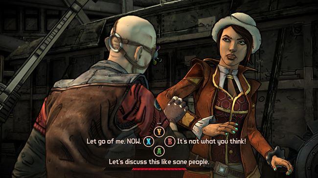 boderlands-android-4 Telltale libera imagens do seu jogo sobre Borderlands