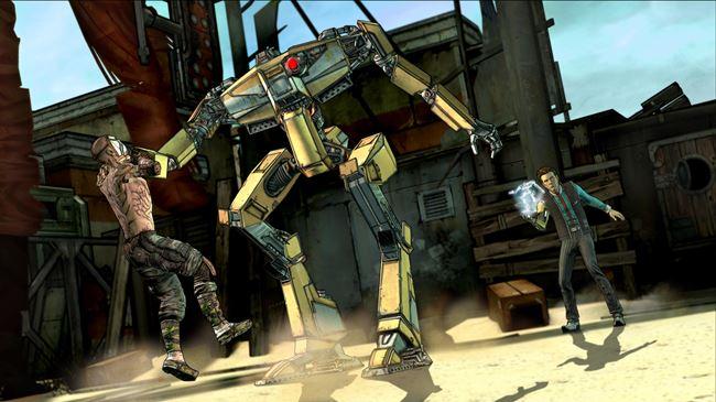 boderlands-android-5 Telltale libera imagens do seu jogo sobre Borderlands