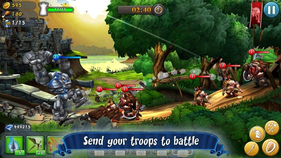 castlestorm 25 Melhores Jogos para Android Grátis - 1° Semestre de 2014