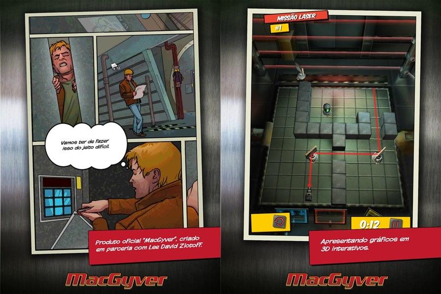macgyver-android Jogo para Android e iOS - MacGyver Descida Mortal
