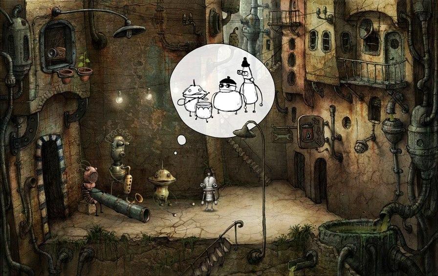 machinarium 30 Melhores Jogos OFFLINE de Aventura para Android e iPhone