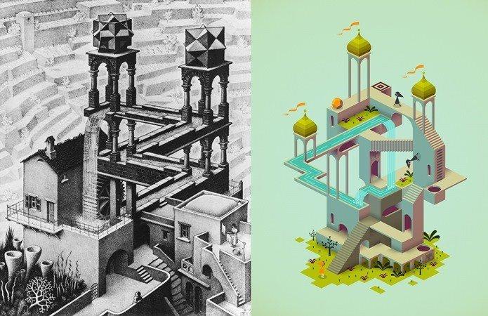 monument-valley-review-ios-2 5 Jogos para Android e iOS que são Obras de Arte