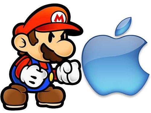 nintendo_apple Apple faturou em 2013, com games,  o mesmo que a Nintendo