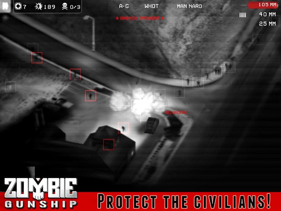 zombie-gunship Melhores Jogos Offline de Zumbis para Android e iPhone