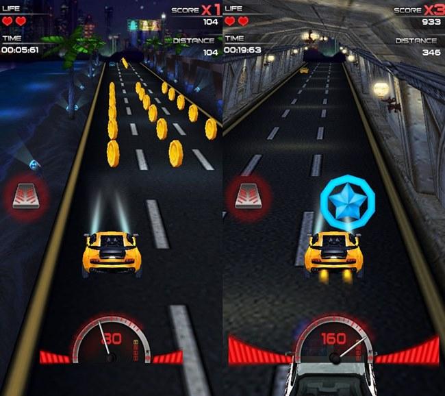 Dark-racer-3d-android Jogo Para Android Grátis  - velocidade do carro rápido