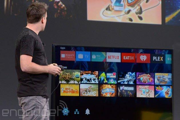 """android-tv-1 Android L, Android TV: Confira as novidades na área """"gaming'"""