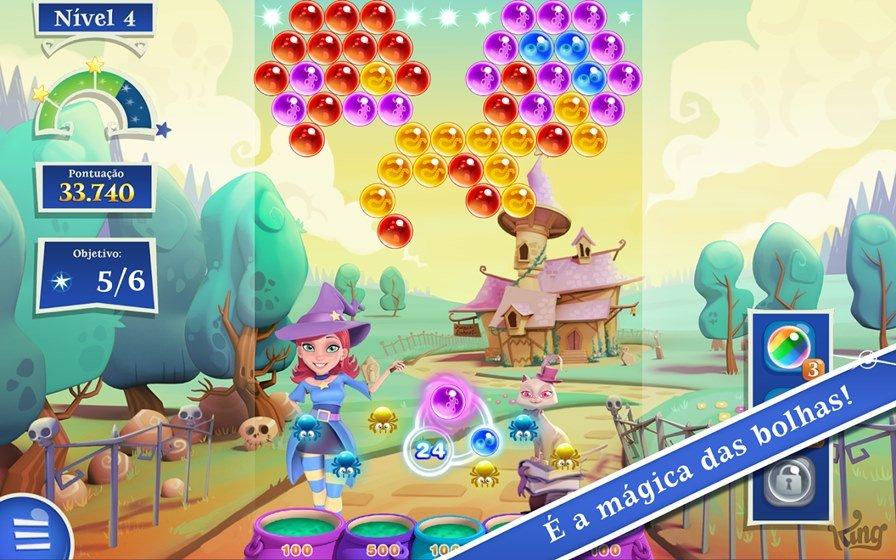 bubble-saga-2-android 100 Melhores Jogos Offline Grátis para Android