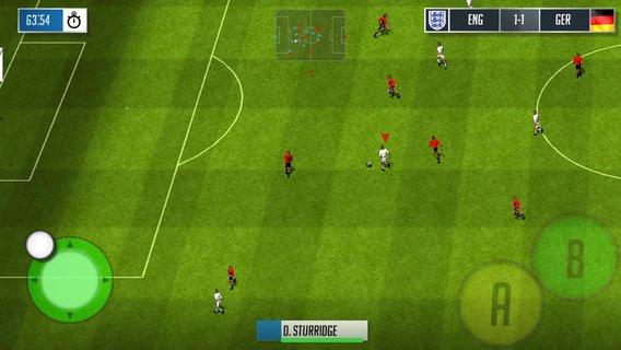 football-england-ios-wp Official England Football é uma mistura de FIFA 95 e Internacional Star Soccer para iOS e WP