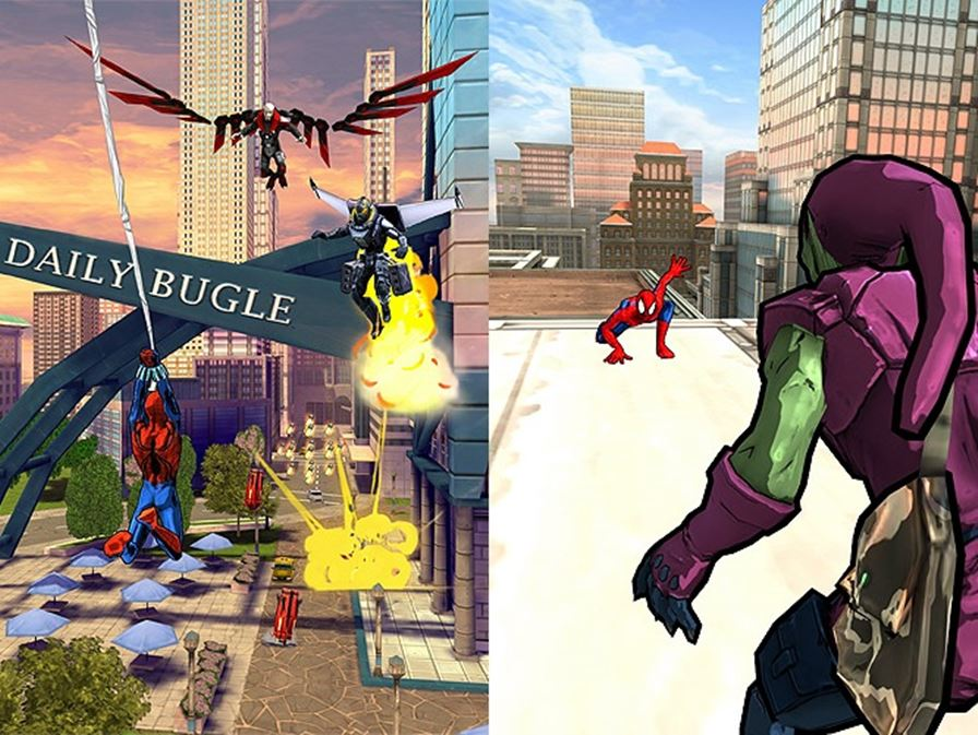 homem-aranha-sem-limites-android-ios-windows-phone-1-tile E3 2014: Spider-man Unlimited para Android, iOS e Windows Phone é revelado