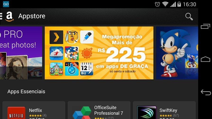 promocao-relampago-amazon Amazon oferece vários jogos pagos de graça no Android! Mas só até amanhã