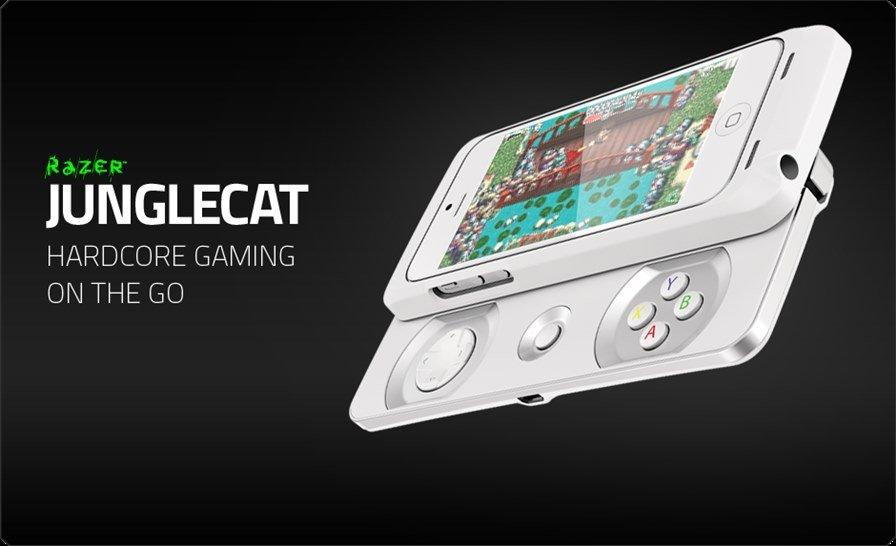razer-junglecat-carousel-white Razer anuncia Junglecat, controle para iPhone 5 e 5S